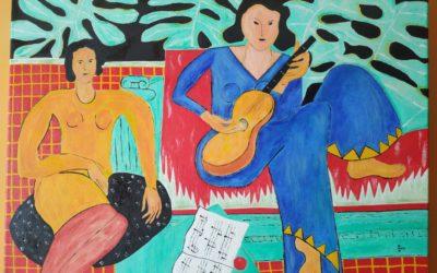 """A música"" por Montse Sanmartín – devellabella"