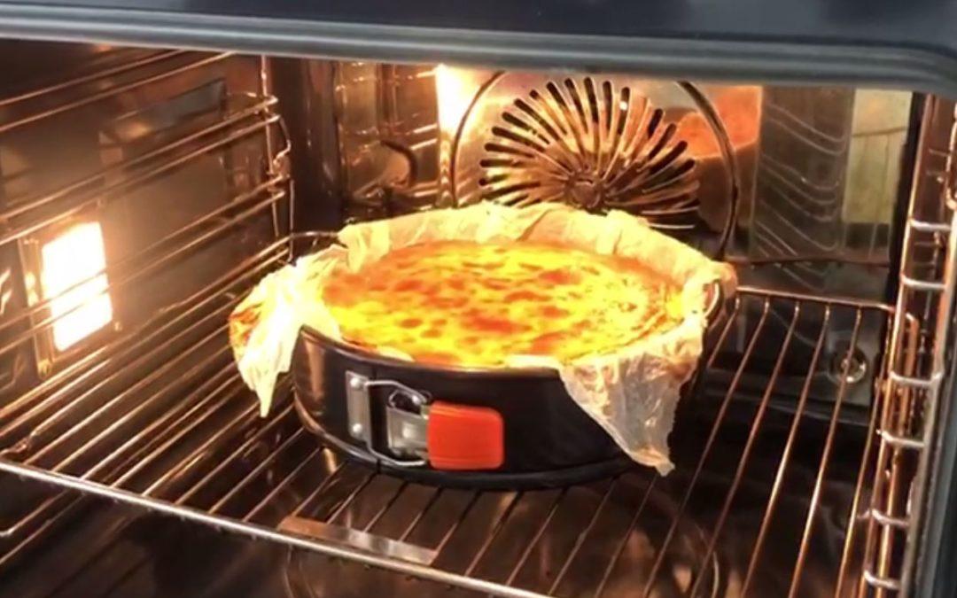 Tarta de queso «La Viña» por Jorge Santos – devellabella