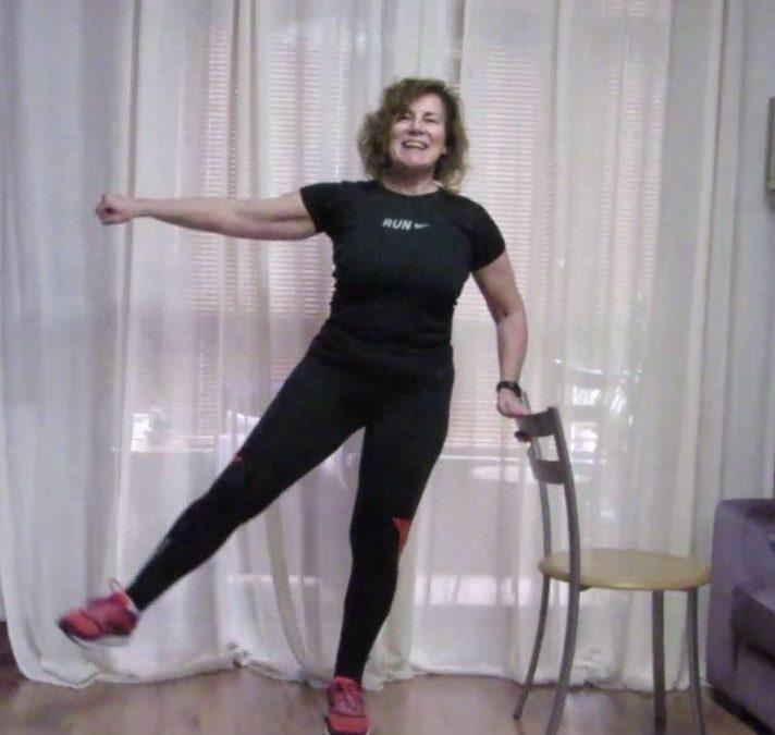 Exercicios de brazos e pernas por Ana Santos