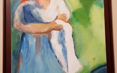 «Lavandeiras» por Montse Sanmartín