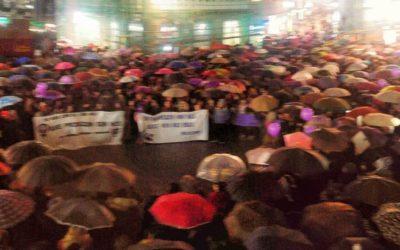 8 de Marzo. Día Internacional da Muller  por Peque González Nóvoa e Sara Valenzuela Viz