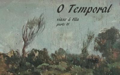 Viaxe a illa de Ons: «O temporal» por Isidro Cortizo