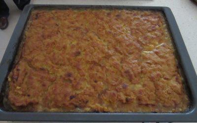 Empanada de millo con zamburiñas por Chicha García