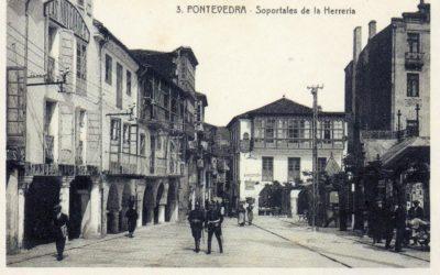 Pontevedra e as casas de madeira por Sara Valenzuela